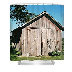 Old Shed Shower Curtain by Lauri Novak