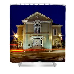 Old Shelby County Alabama Courthouse Shower Curtain