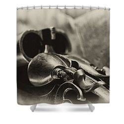 Old Shotgun Shower Curtain