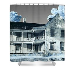 Old Shull House In 642 Shower Curtain