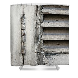 Shower Curtain featuring the photograph Old Shutters by Elena Elisseeva