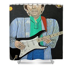 Old Slowhand. Shower Curtain