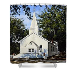 Old St. Andrew Church Shower Curtain