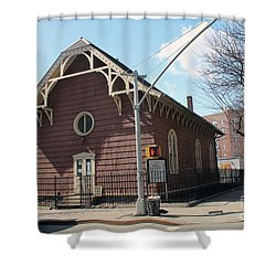 Old St. James Church  Shower Curtain
