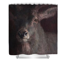 Old Stag Shower Curtain