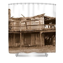 Old Stagecoach Stop Shower Curtain