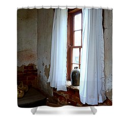 Old Time Window Shower Curtain
