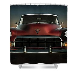 Old-timer Cadillac Convertible Shower Curtain
