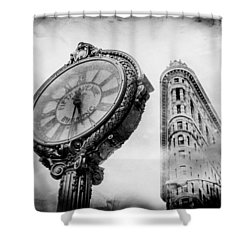 Old Time's Sake Shower Curtain