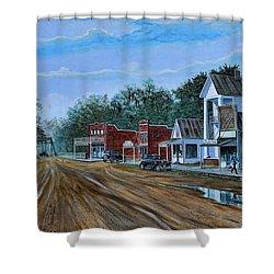 Old Town Breaux Bridge La Shower Curtain