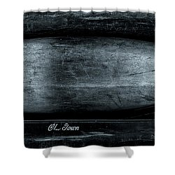 Old Town Canoes Shower Curtain by Bob Orsillo