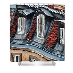 Old Town In Warsaw #19 Shower Curtain
