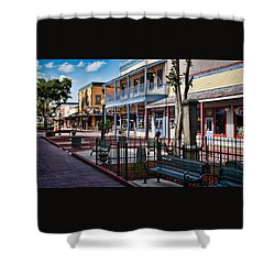 Old Town - Kissimmee - Shade To Sunlight Shower Curtain