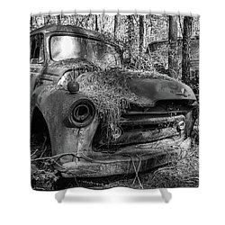 old truck_MG_4220 Shower Curtain