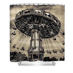 Old Tyme County Fair Shower Curtain