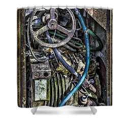Old Washing Machine Works Shower Curtain