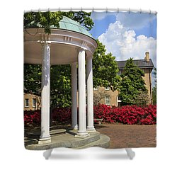 Old Well At Chapel Hill In Spring Shower Curtain