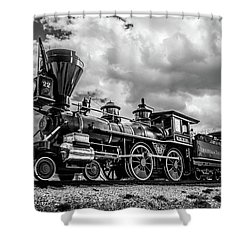 Old West Train Shower Curtain