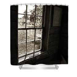 Shower Curtain featuring the photograph Old Window by Joanne Coyle