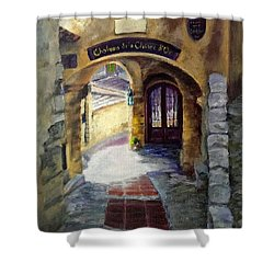 Old World Passage Shower Curtain