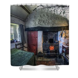 Olde Country Home Shower Curtain by Ian Mitchell