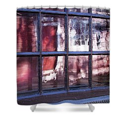 Olde Glass Shower Curtain