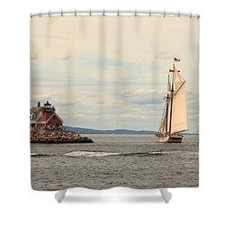 Olden Days Shower Curtain