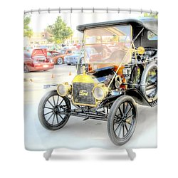 Shower Curtain featuring the photograph Oldie But Goodie by Dyle   Warren