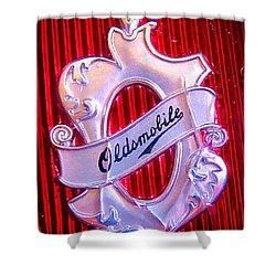Oldsmobile Emblem. Shower Curtain