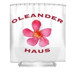 Oleander Haus Shower Curtain