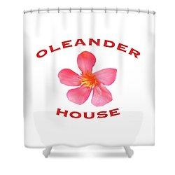 Oleander House Shower Curtain
