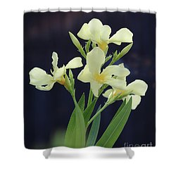 Shower Curtain featuring the photograph Oleander Marie Gambetta 2 by Wilhelm Hufnagl