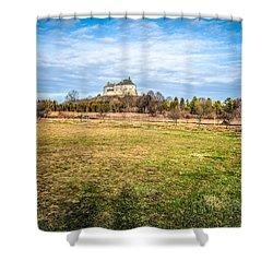 Olesko Castle In Ukraine Shower Curtain