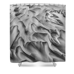 Olfusa River Delta_2 Shower Curtain