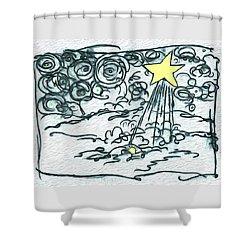 Olittle Town Shower Curtain