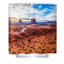Oljato-monument Valley Shower Curtain