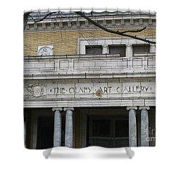Olney Art Gallery 2 Shower Curtain by Michael Krek