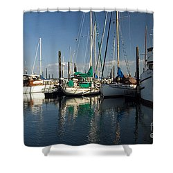 Olympia Marina Shower Curtain