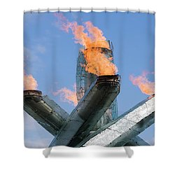 Olympic Cauldron Shower Curtain