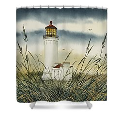 Olympic Coast Sentinel Shower Curtain by James Williamson