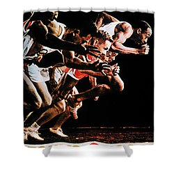 Olympic Games, 1964 Shower Curtain by Granger