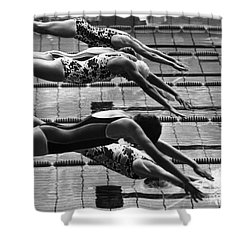 Olympic Games, 1972 Shower Curtain by Granger