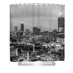 Olympic Park, Atlanta Shower Curtain
