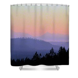 Olympic Silhouette Shower Curtain