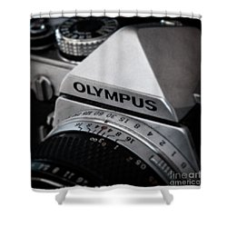 Shower Curtain featuring the photograph Om-1 - D010028b by Daniel Dempster