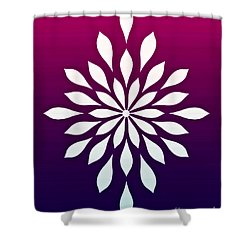 Ombre Star  Shower Curtain