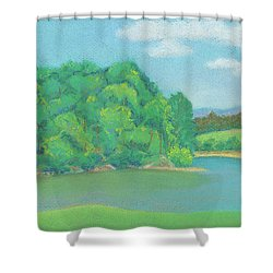 Omega Afternoon Shower Curtain
