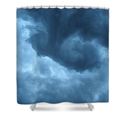 Ominous  Shower Curtain