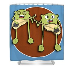 Omti And Itmo Shower Curtain