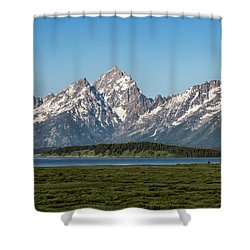 On A Clear Day Shower Curtain